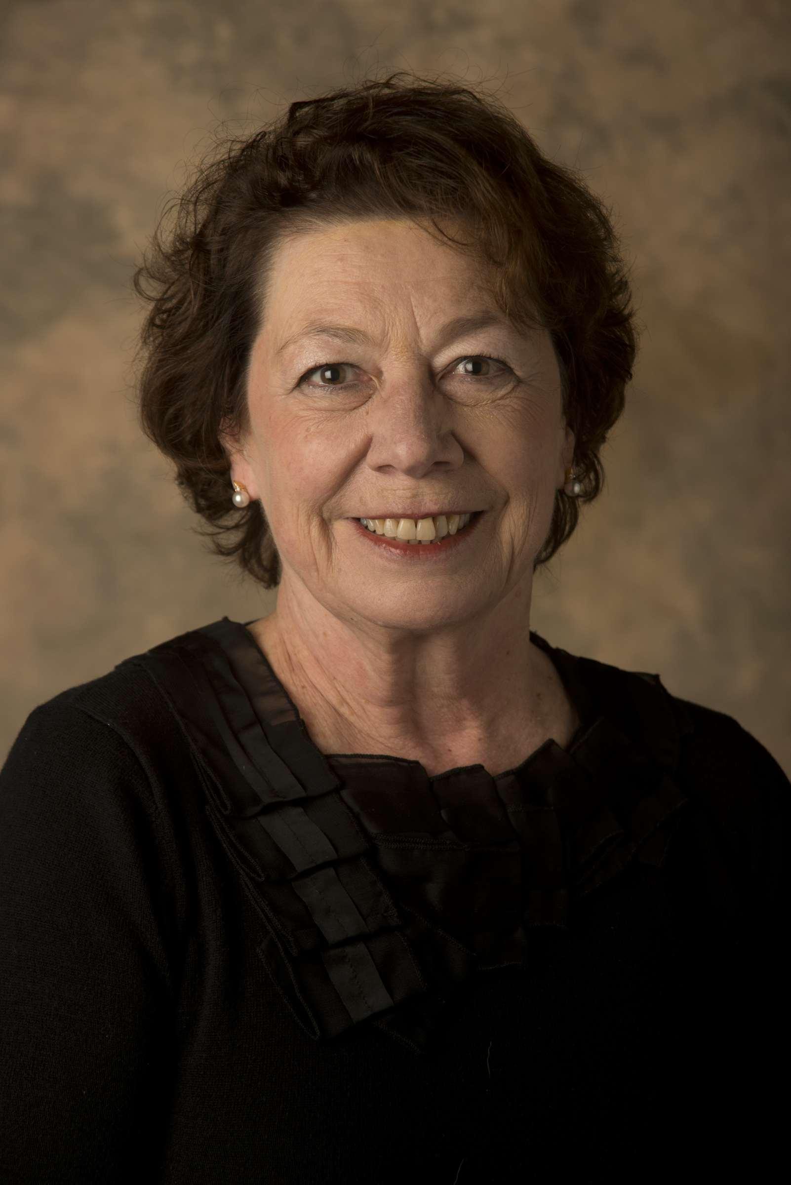 Color portrait of Anne Van Camp