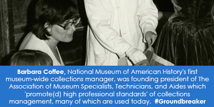 Barbara Coffee, National Museum of American History