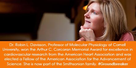 Dr. Robin L. Davisson, Professor of Molecular Physiology at Cornell University, won the Arthur C. Co