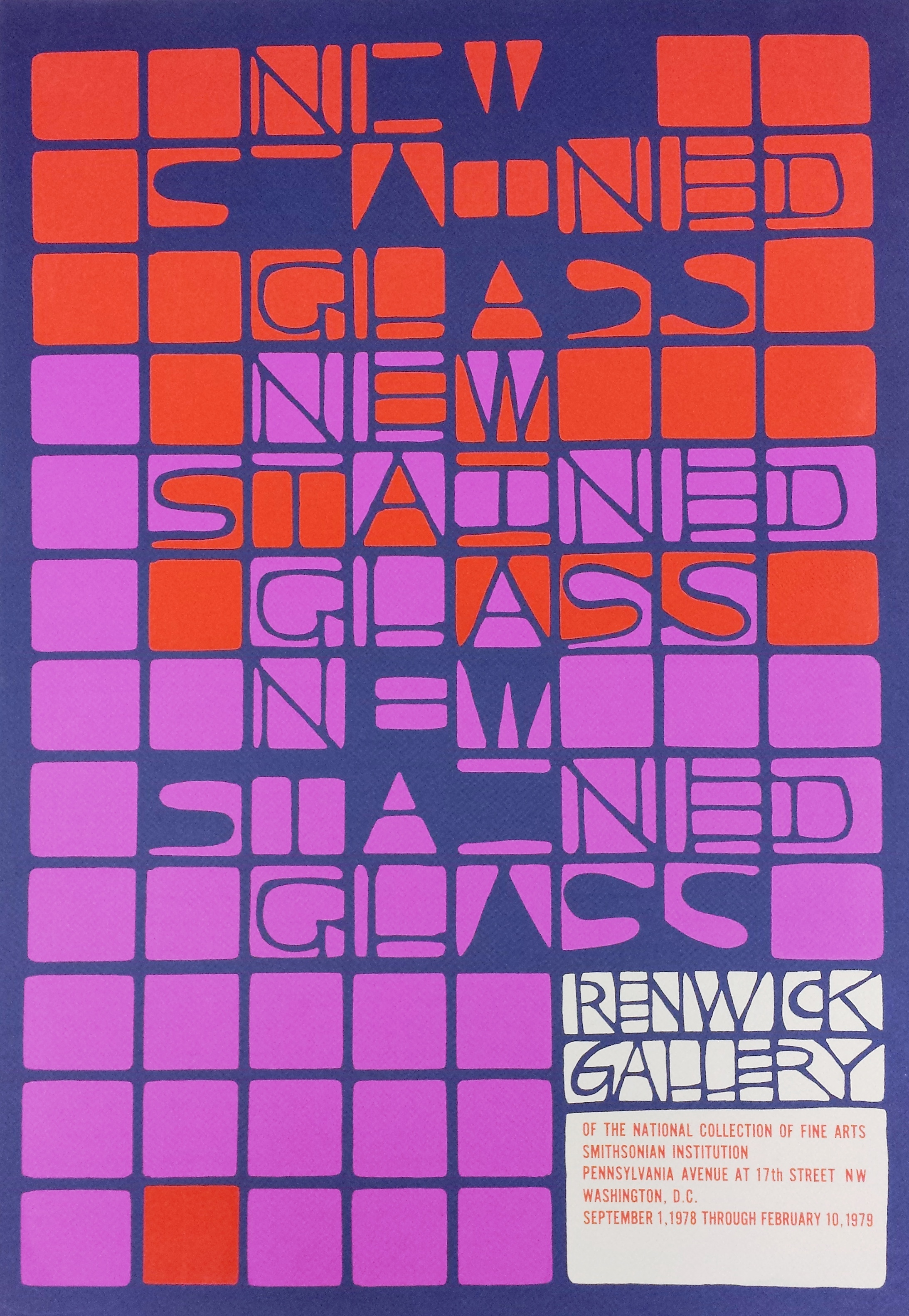 New Stained Glass, 1978-1979.