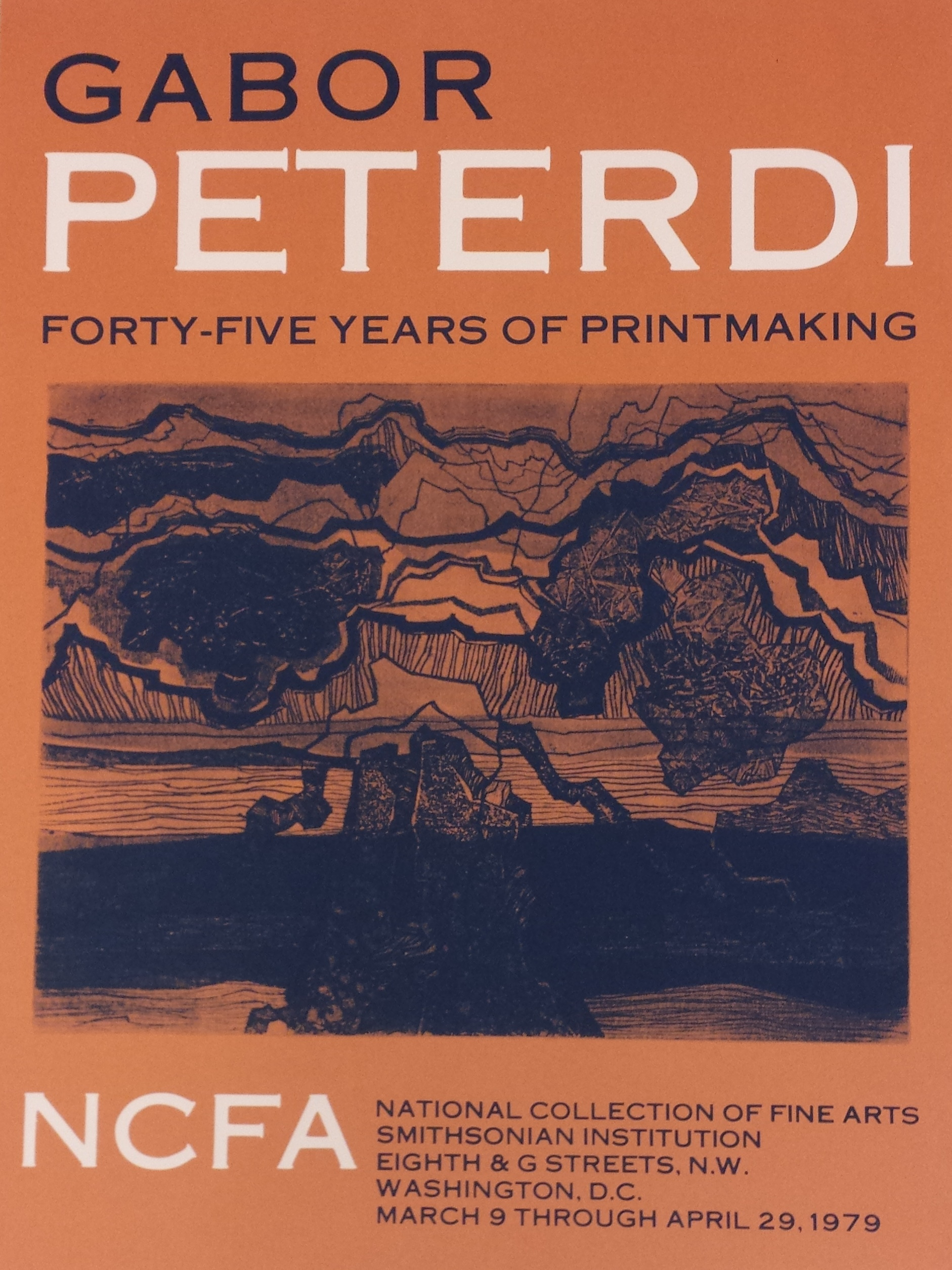 Gabor Peterdi: 45 Years of Printmaking, 1979.