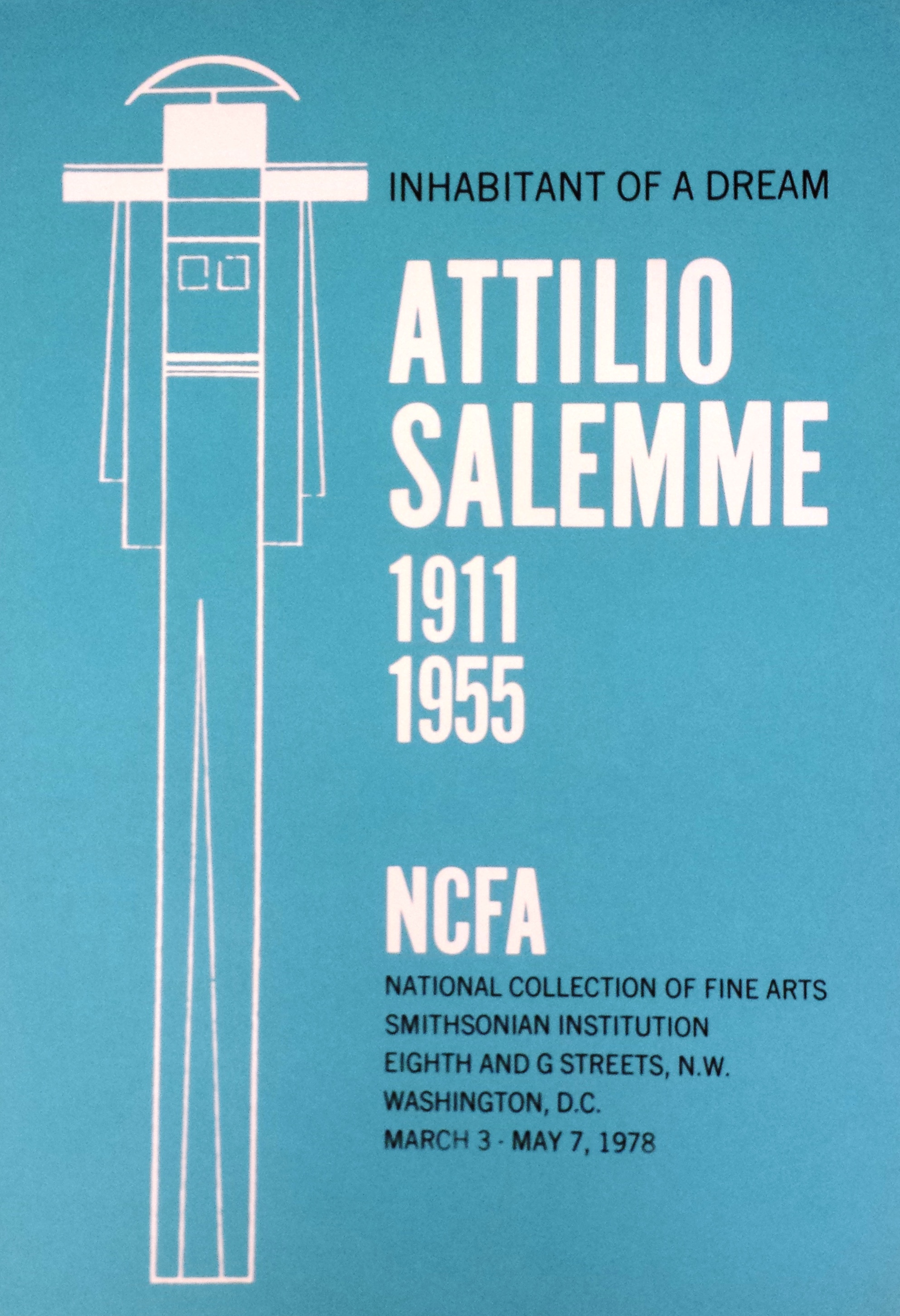 Attilio Salemme: Inhabitant of a Dream, 1978.