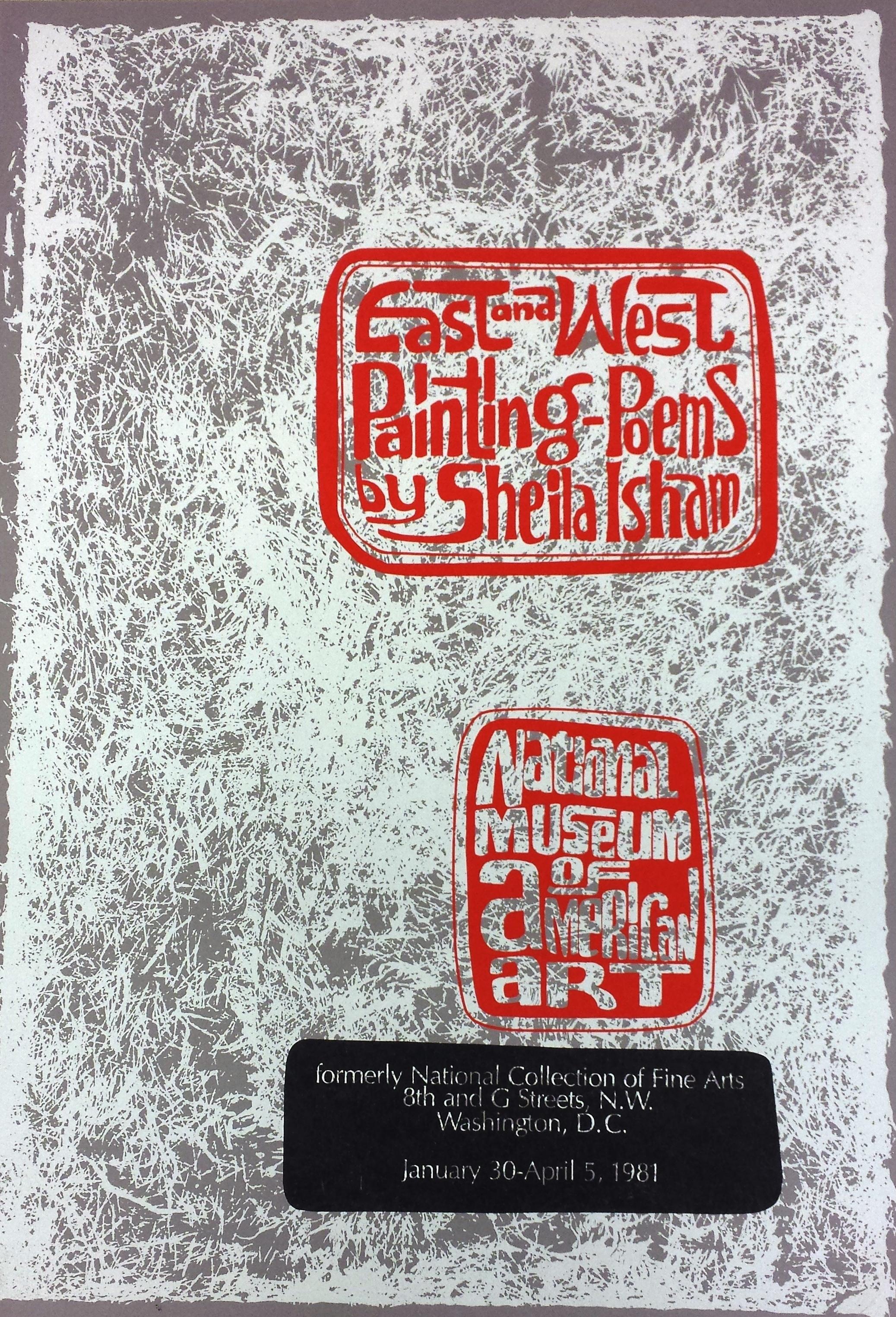 20 Painting Poems by Sheila Isham, 1981.