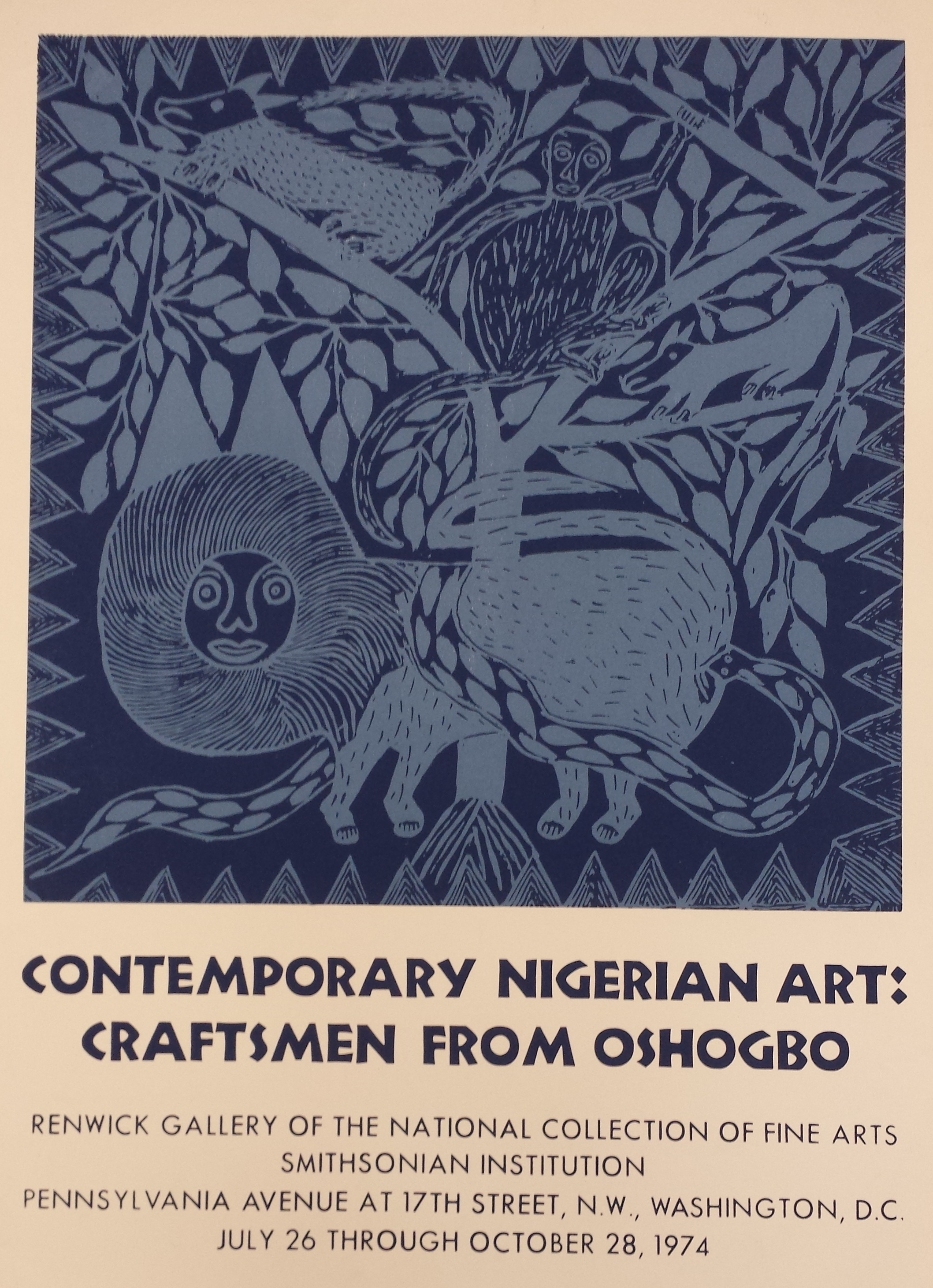 Contemporary Nigerian Art: Craftsmen from Oshogbo, 1974.
