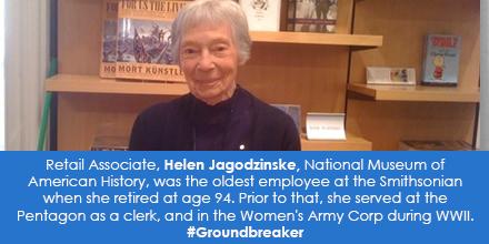 Retail Associate, Helen Jagodzinske, National Museum of American History
