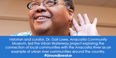 Historian and Curator, Dr. Gail Lowe, Anacostia Community Museum