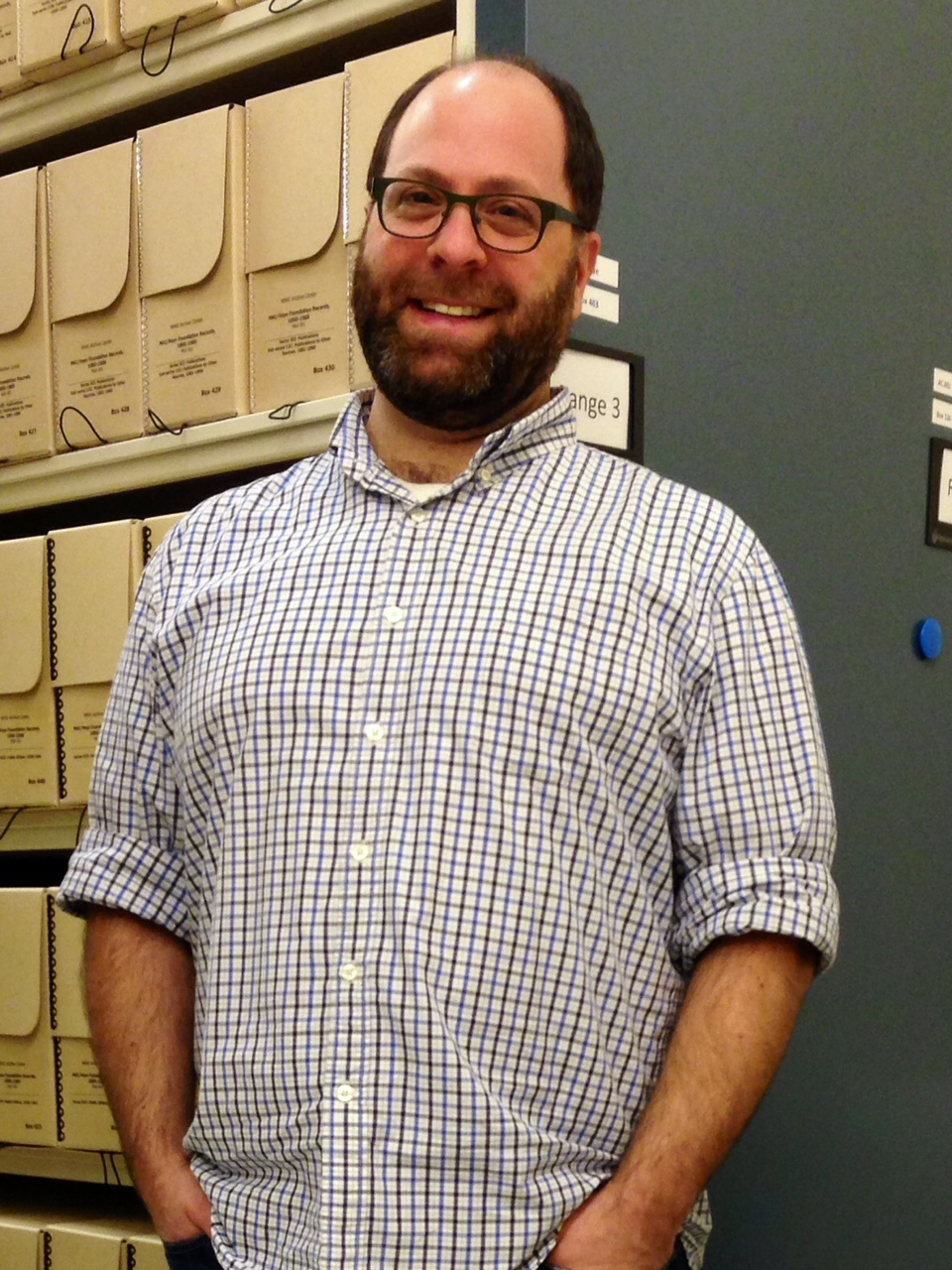 Michael Pahn, Head Archivist, Smithsonian's National Museum of the American Indian Archive Center