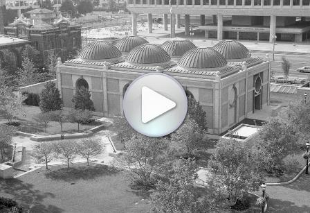 National Museum of African Art Pavilion Viewed from the top of Smithsonian Institution Building, 198