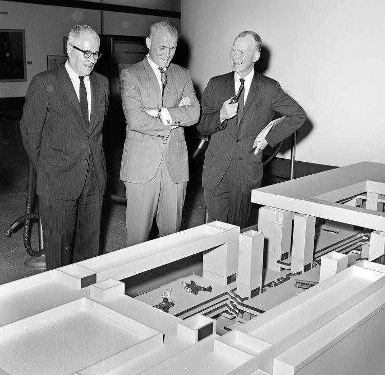 John Glenn Visits the National Air Museum