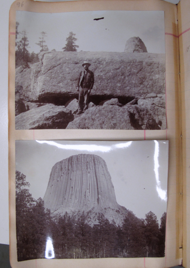 Devils Tower National Monument, Accession 11-106 - David Griffiths Field Books