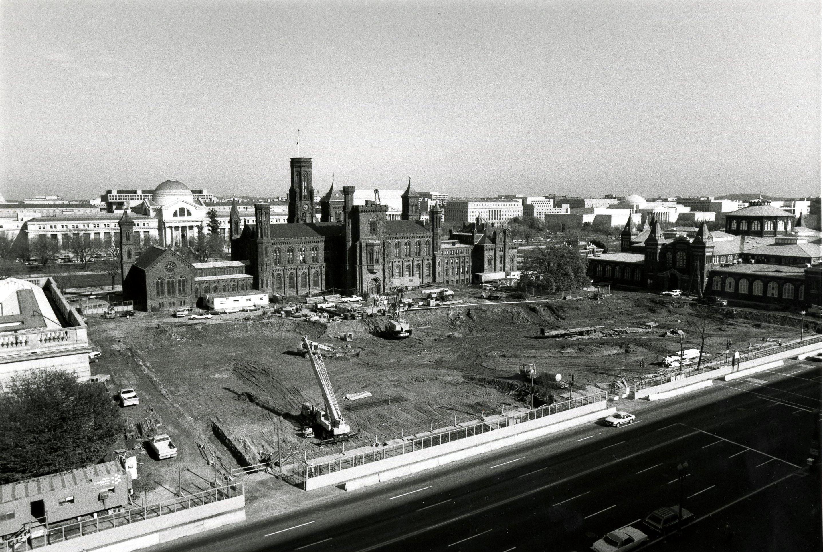 Quadrangle excavation, 1983, by Jeffrey Ploskonka.