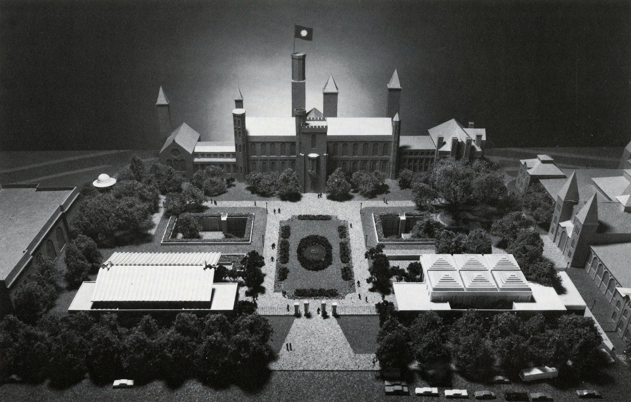 Model of Quadrangle, by Dane A. Penland.