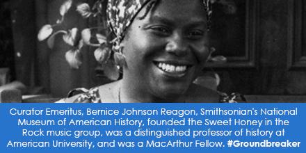Curator Emeritus, Bernice Johnson Reagon