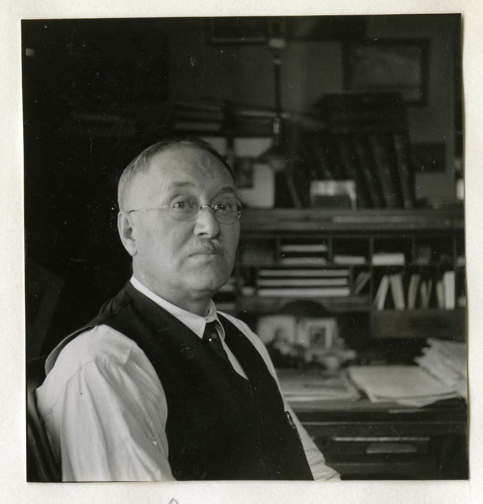 Arthur J. Olmstead, July 1935, by Ruel P. Tolman.