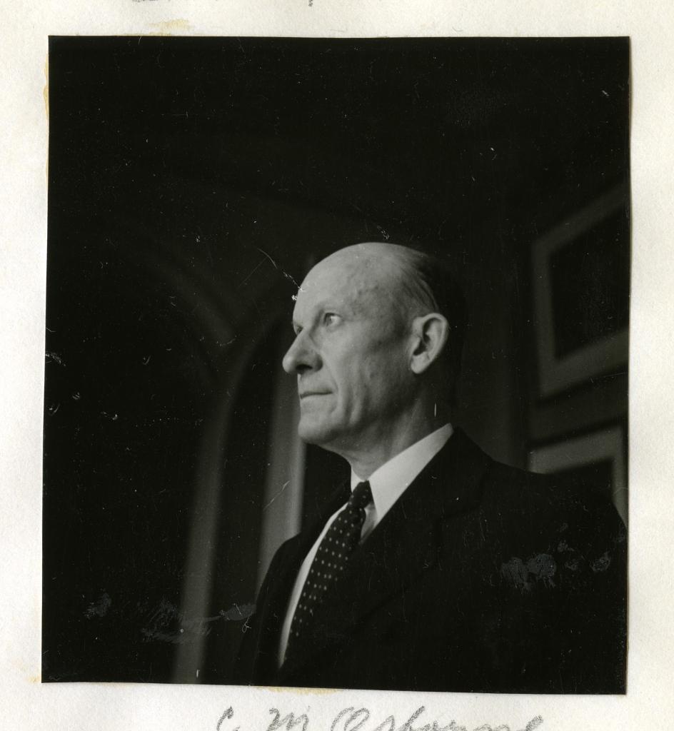 C. M. Osbourne, jeweler, 1936, by Ruel P. Tolman.