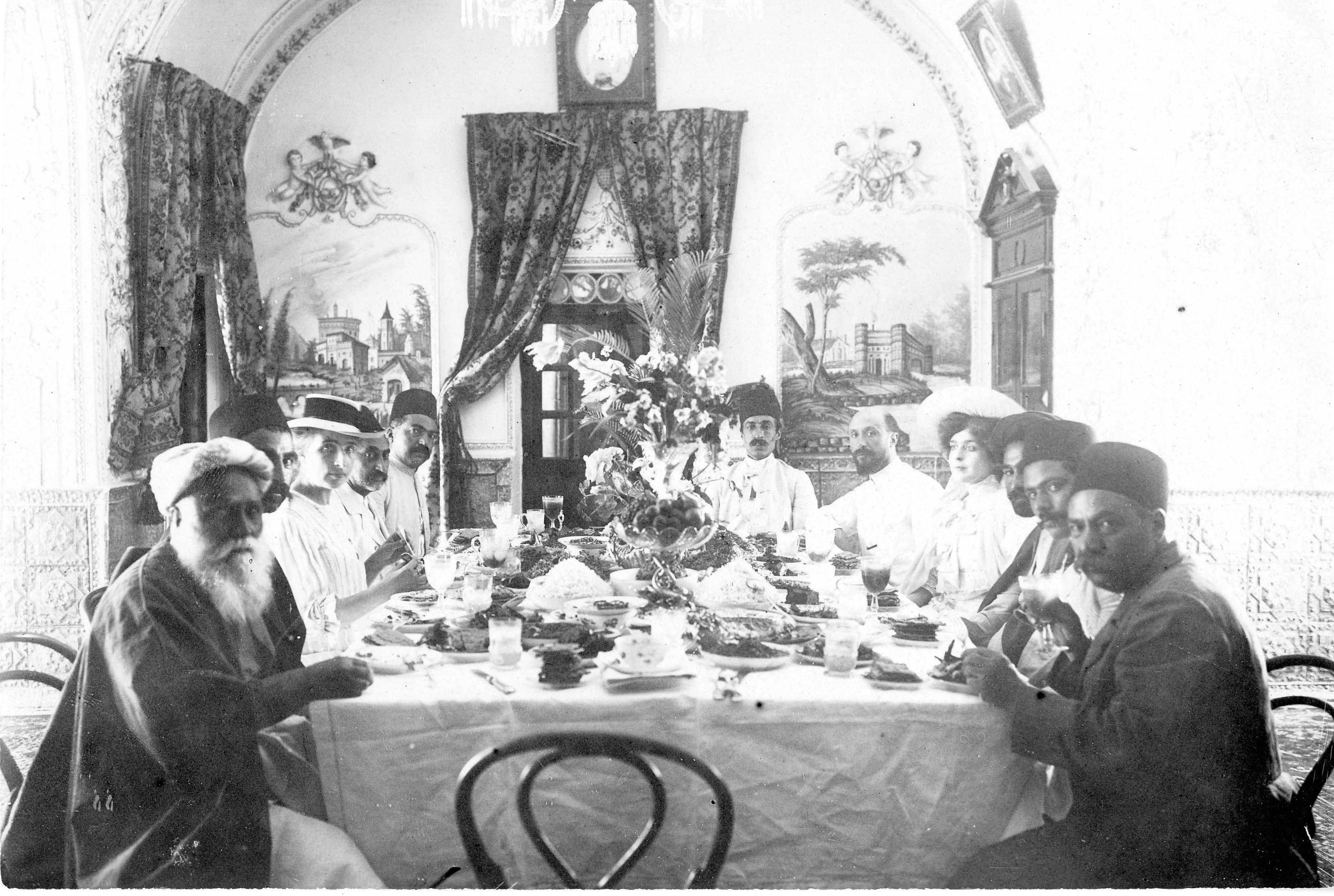 Laura Barney, Hippolyte Barney, Tehran with Baha'is.