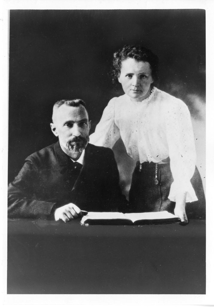 Pierre Curie and Marie Sklodowska Curie were jointly awarded the Nobel Prize for Physics in 1903 for