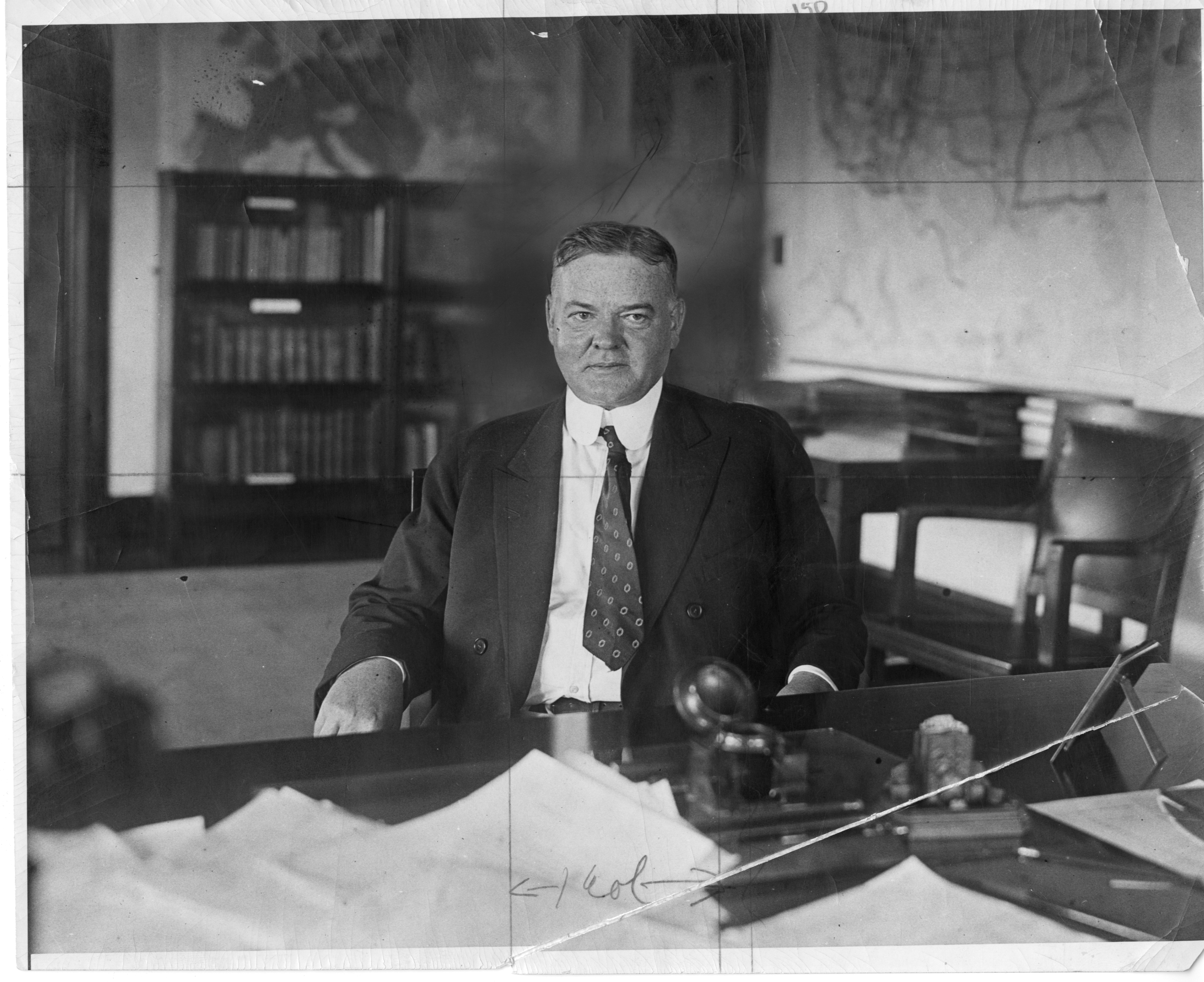 Herbert Hoover before becoming President