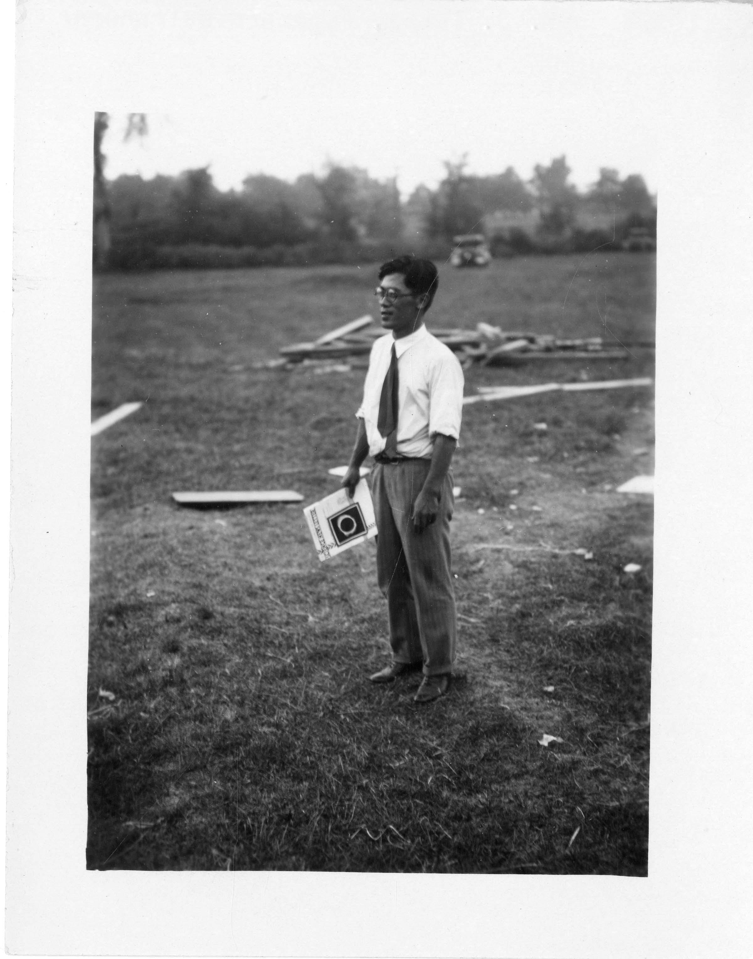 Mr. Ikawa, Japanese astronomer
