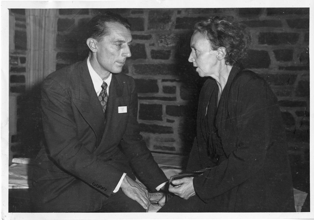 Frèdèric Joliot (1900-1958) and Irène Joliot-Curie (1897-1956), 1940s