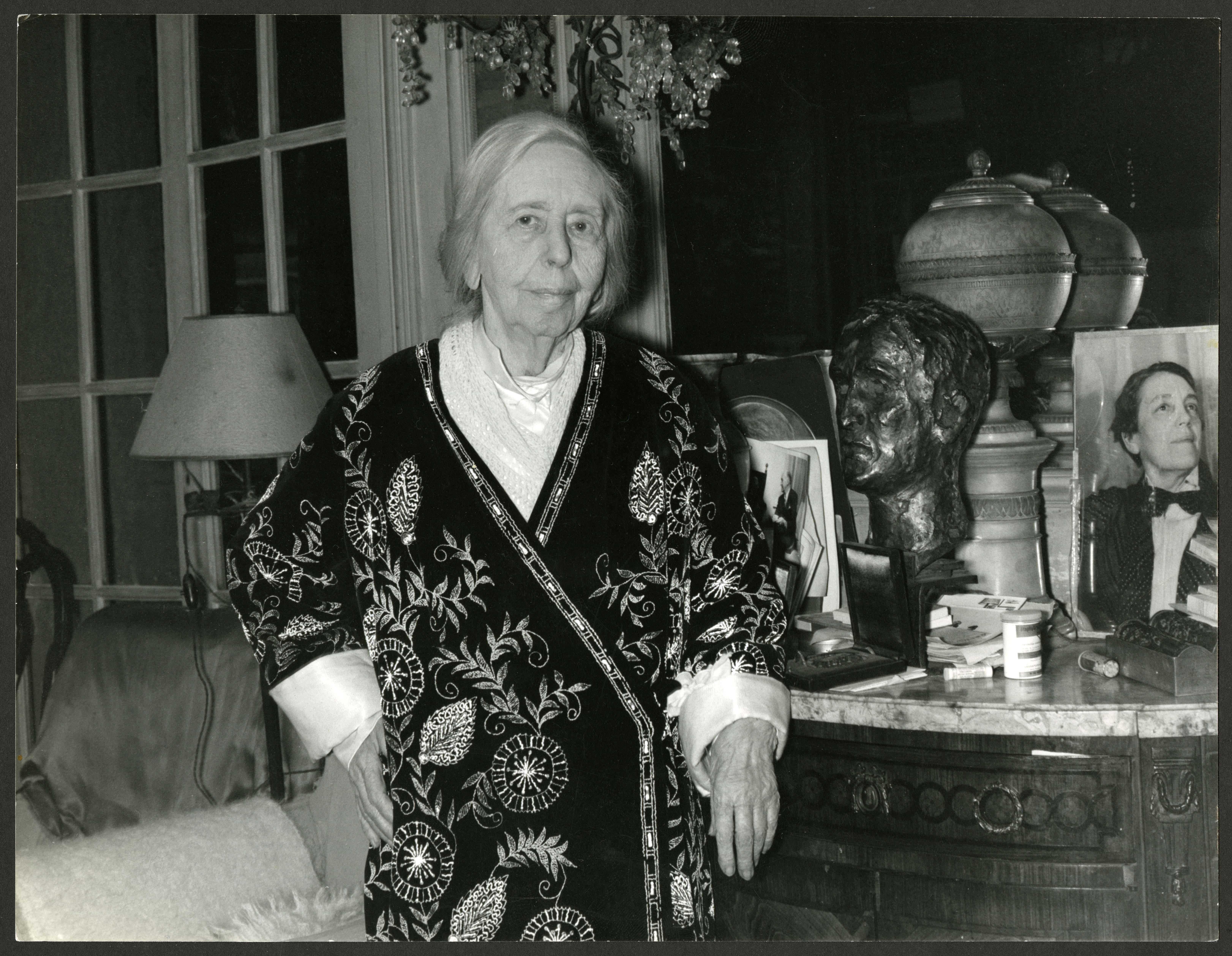 Natalie Clifford Barney, c. 1965.