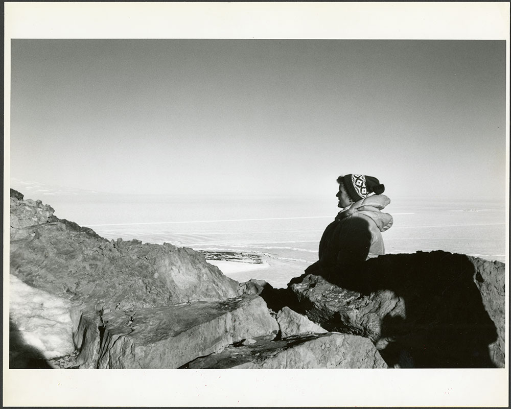 Planetary Geologist Ursula B. Marvin of the Smithsonian Astrophysical Observatory in Antarctica, 197