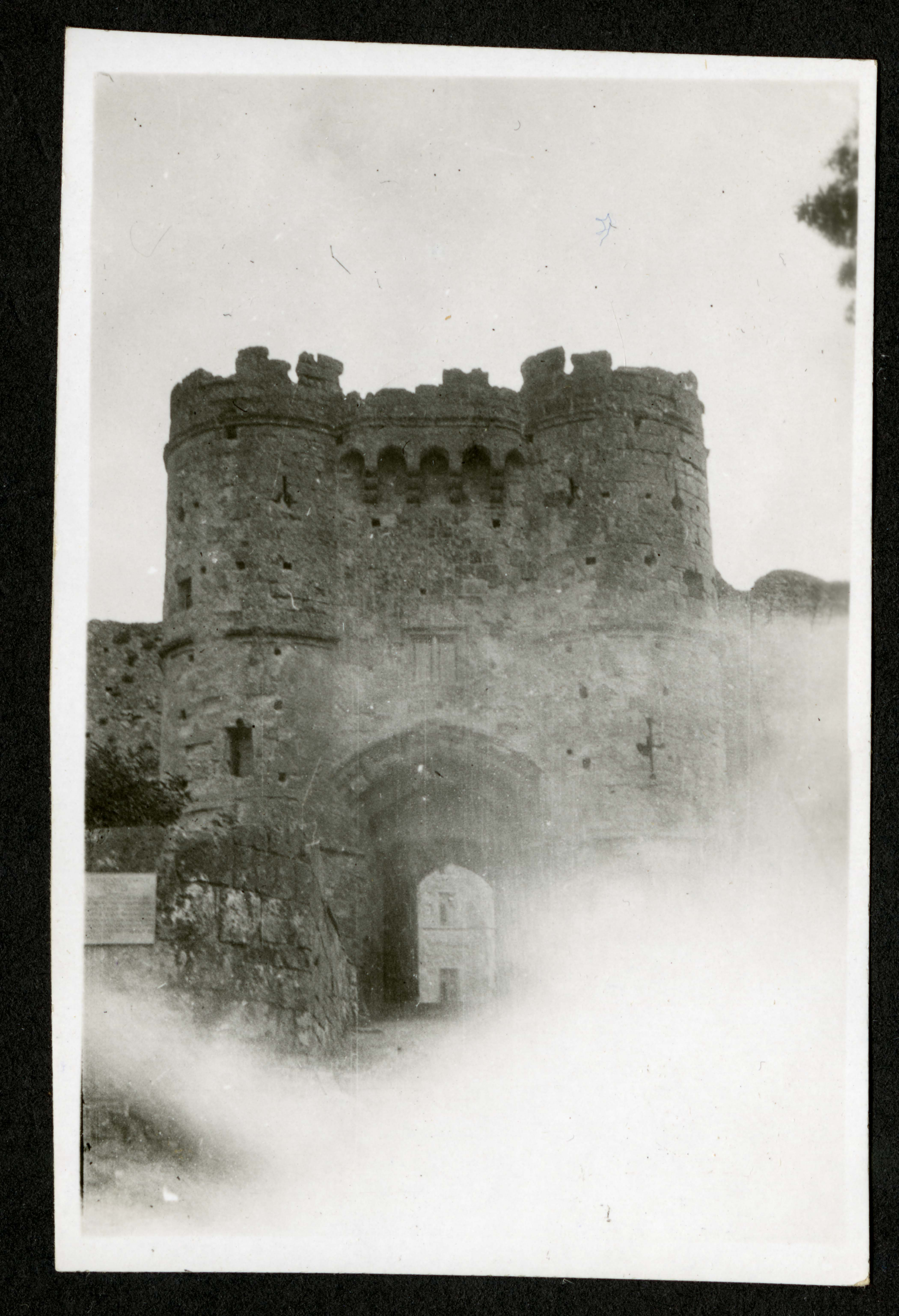 Entrance to castle keep?, Record Unit 7091: Science Service, Records, circa 1910-1963, Smithsonian Institution Archives, image no. SIA2015-003203.
