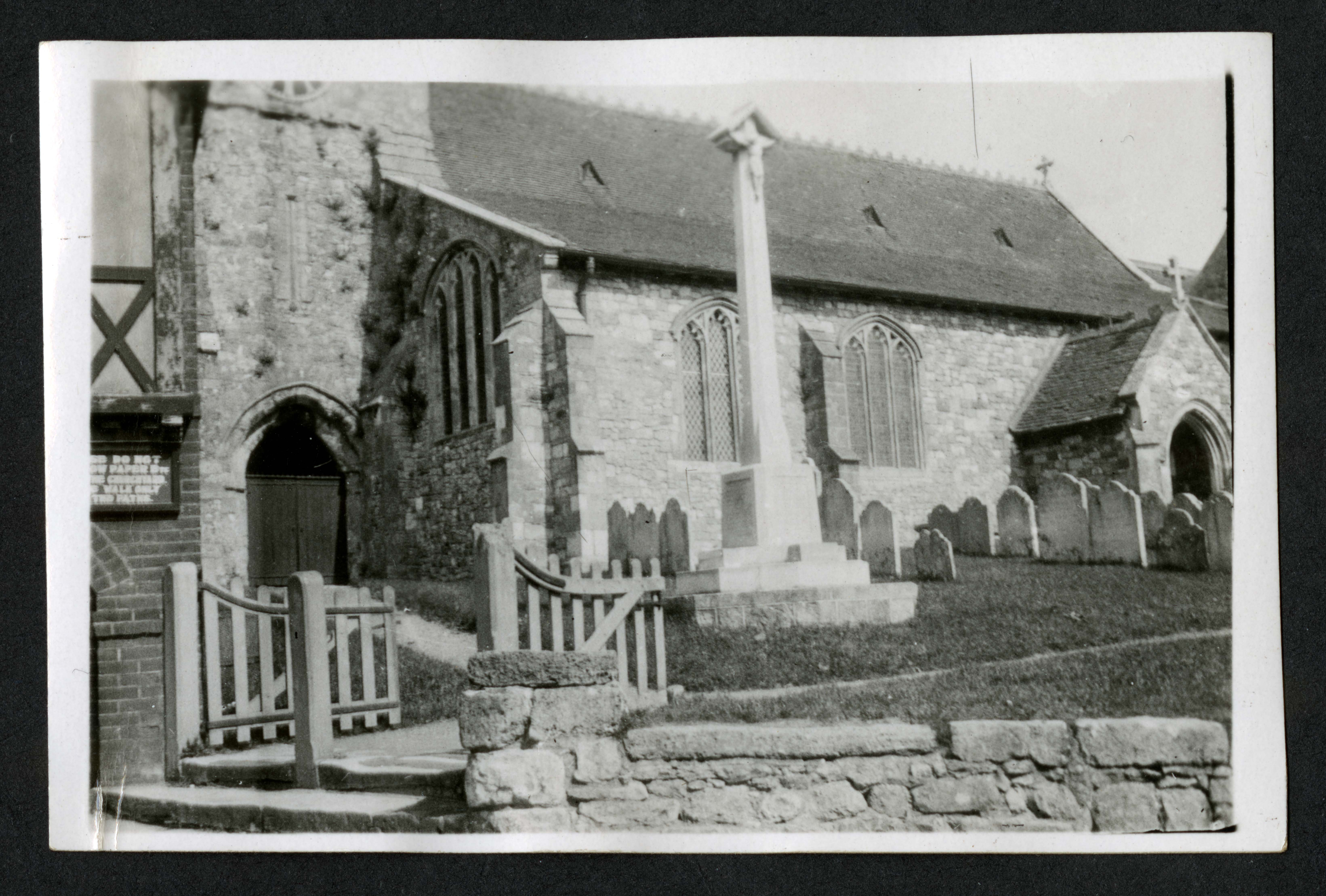 Church and graveyards, Record Unit 7091: Science Service, Records, circa 1910-1963, Smithsonian Institution Archives, image no. SIA2015-003209.