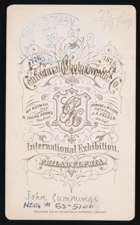 Backmark - Centennial Photographic Co.