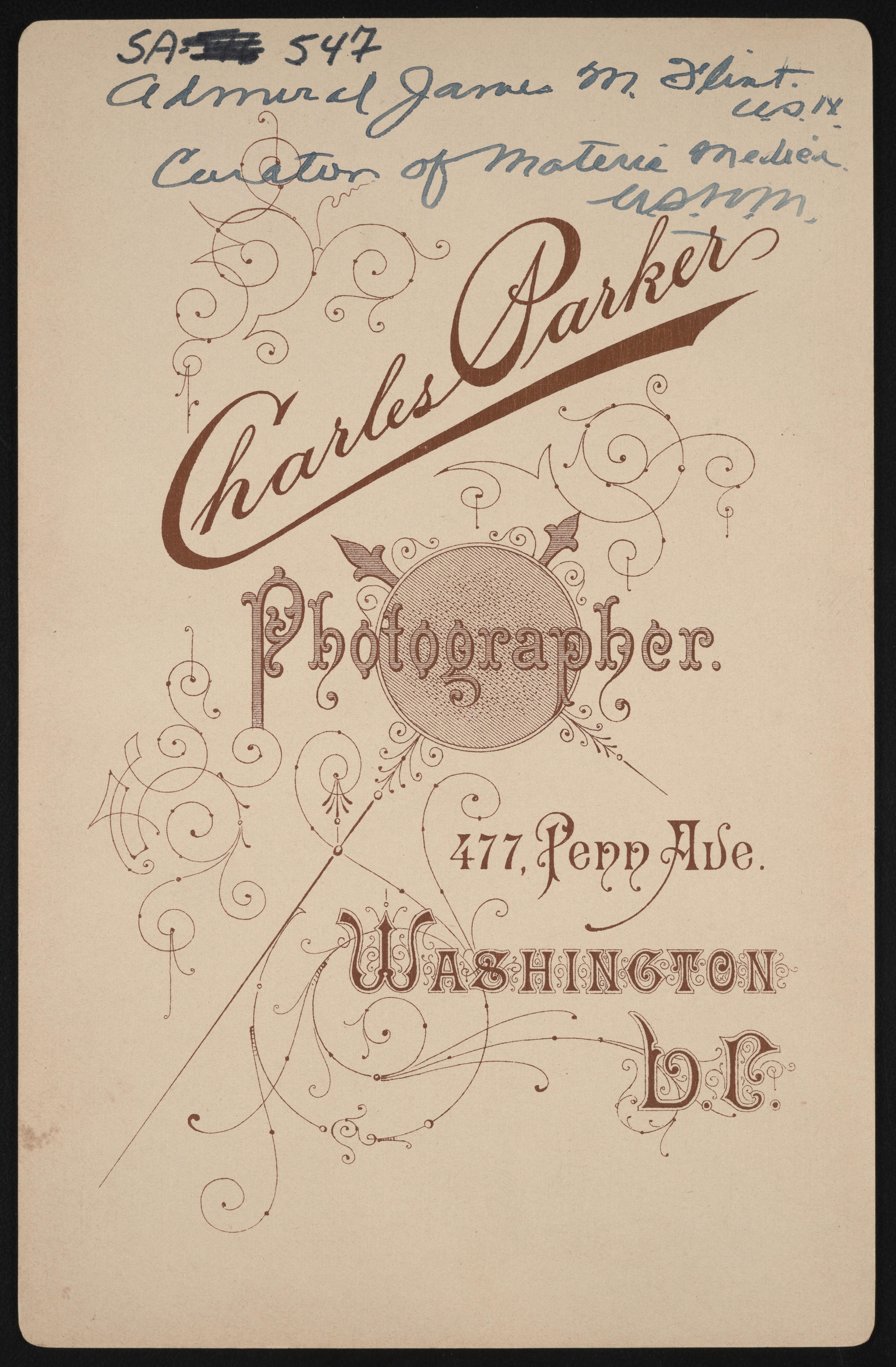 Backmark - Charles Parker,