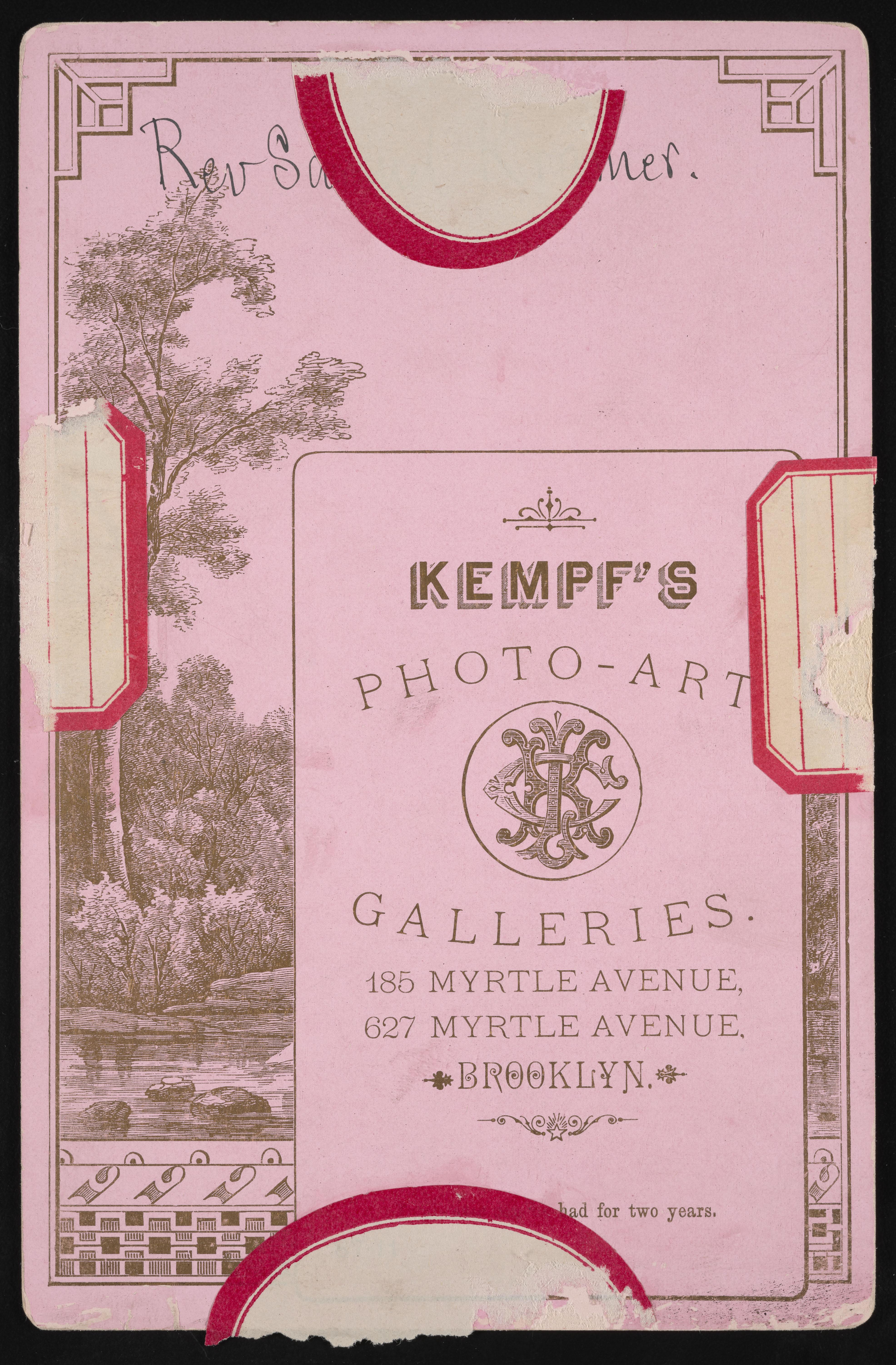 Backmark - Charles L. Kempf