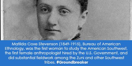 Matilda Coxe Stevenson (1849-1915), Bureau of American Ethnology