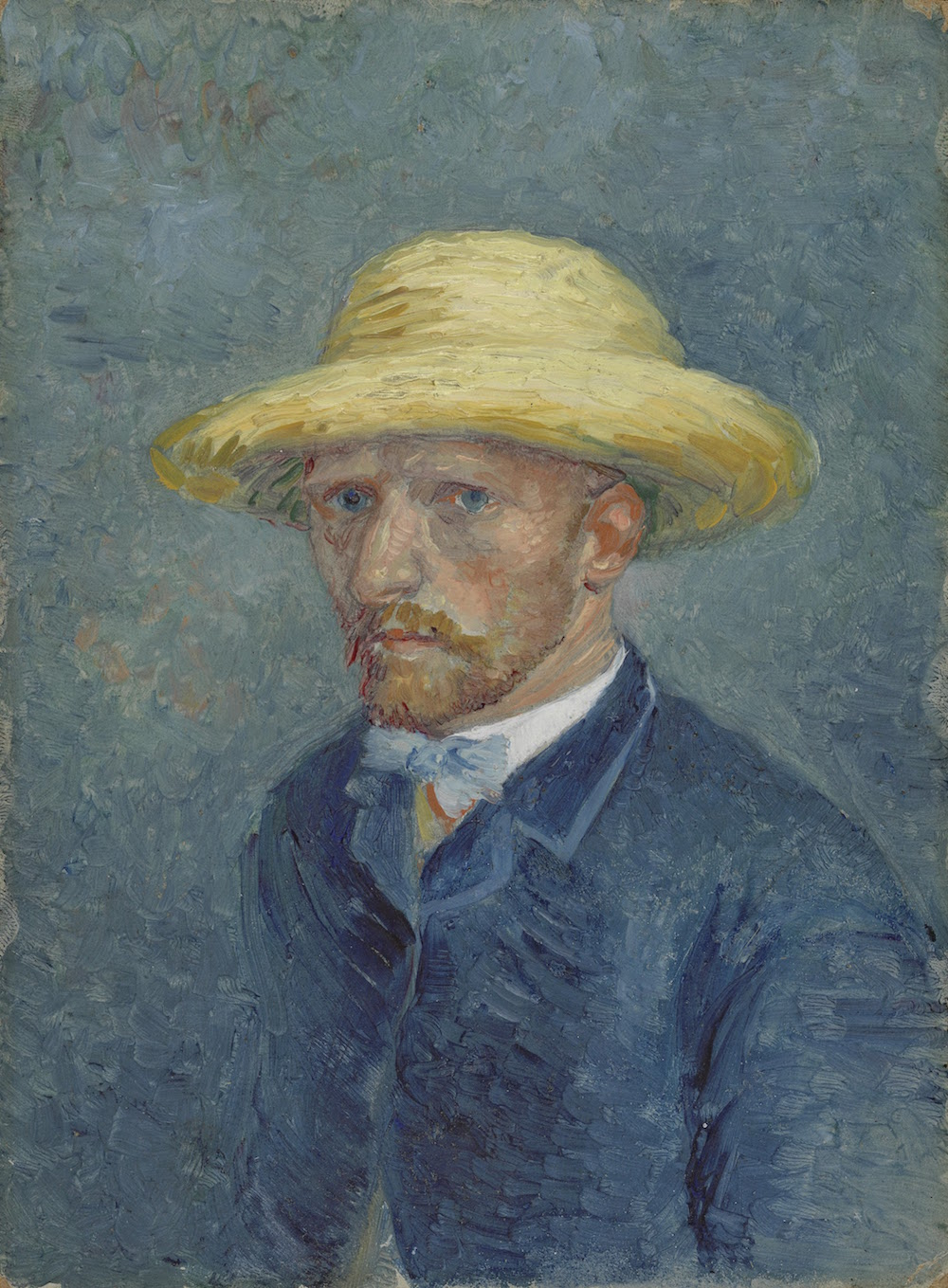 Portrait of Theo van Gogh, 1887, by Vincent van Gogh.