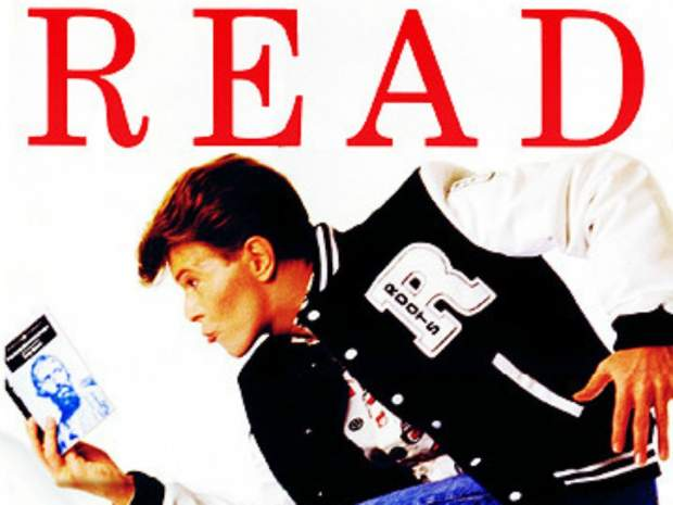 American Library Association's Promotional Poster with David Bowie