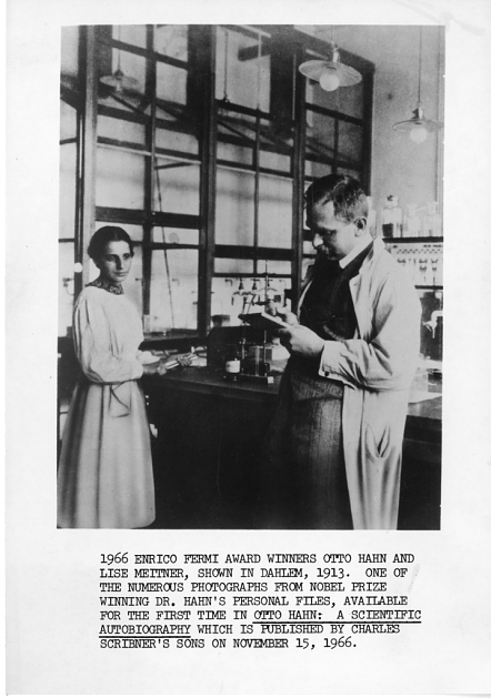 Lise Meitner (1878-1968) and Otto Hahn (1879-1968), Dahlem, Germany, 1913