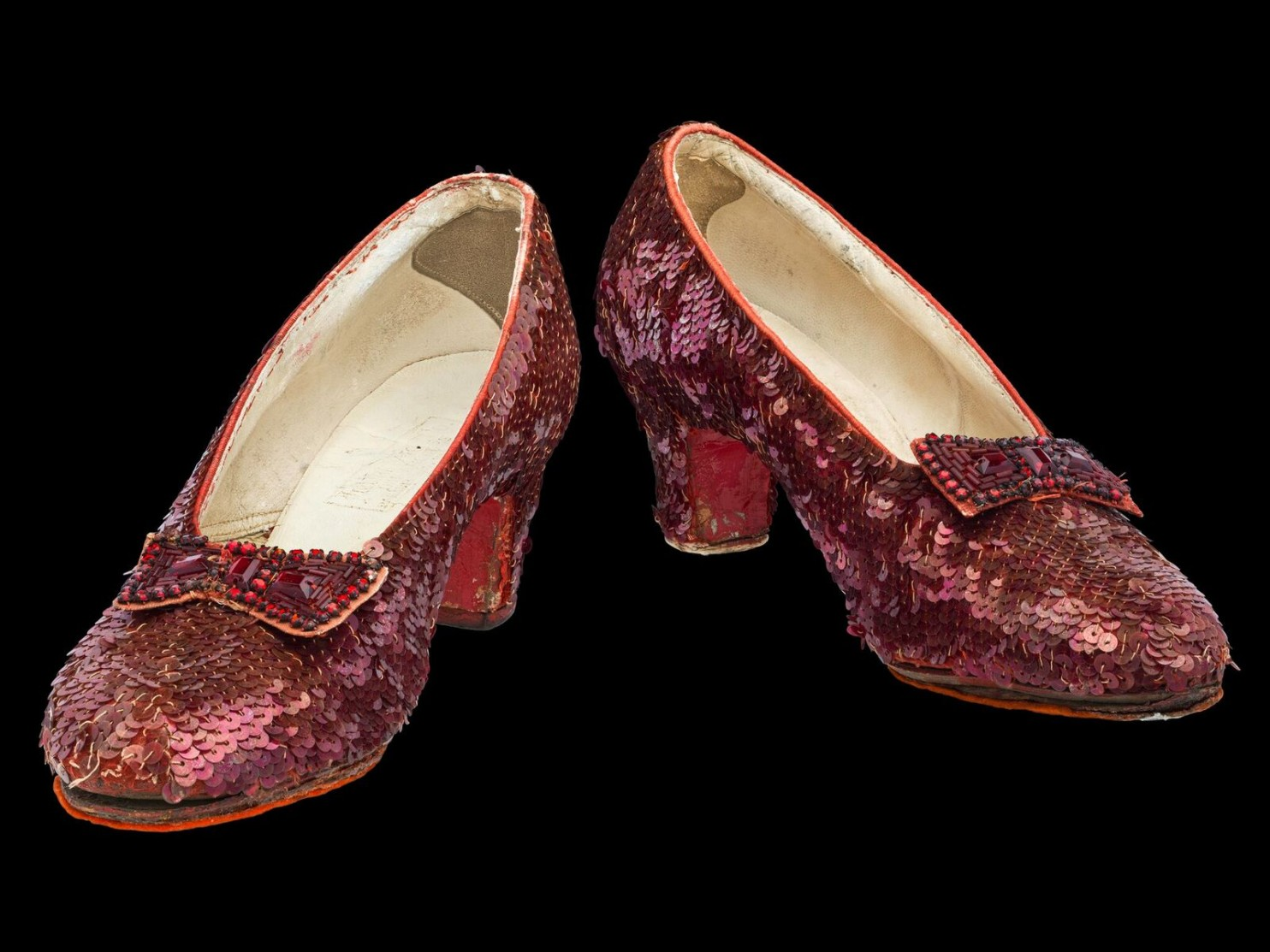 Ruby slippers, 'The Wizard of Oz.'