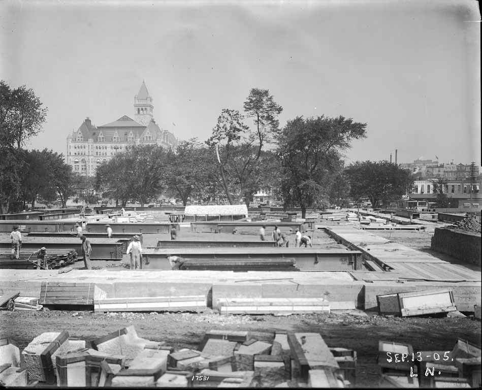 Construction of the U. S. National Museum