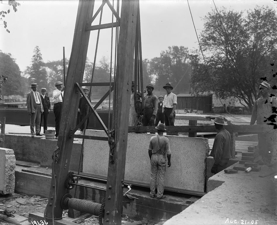 Laying First Stone at United States National Museum Building