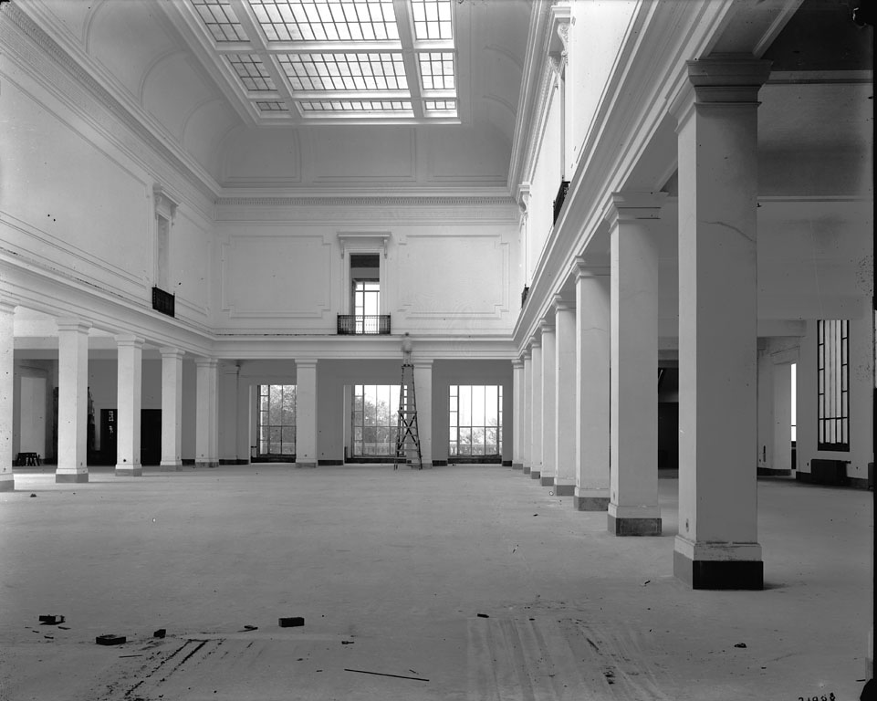First Floor Construction, National Museum of Natural History