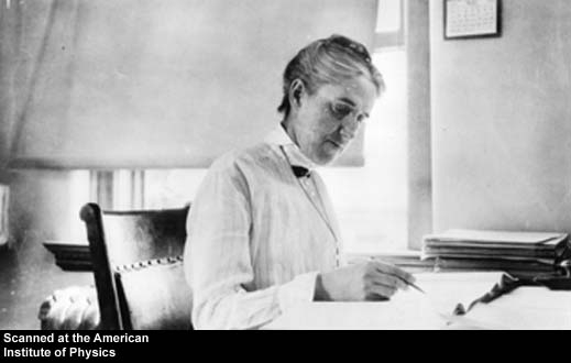 Henrietta Swan Leavitt, Unknown Photographer, Date Unknown, credit of AIP Emilio Segre Visual Archiv