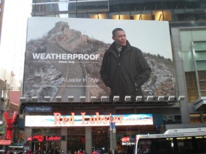 Obama Billboard in Times Square, 2010, photo courtesy of Marvin Heiferman.