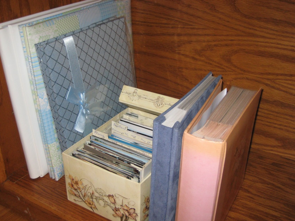 Some examples of what your personal archives might look like, Photo courtesy of Jennifer Wright.