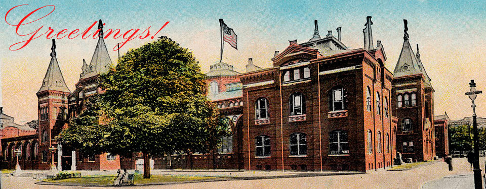 United States National Museum Building, now the Arts and Industries Building