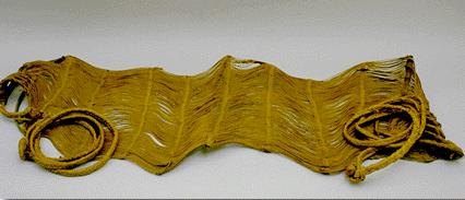 Hammock made of vegetable fibers