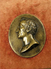 Portrait Medal of James Smithson by N. P. Tiolier, 1817