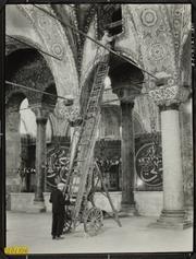 South Gallery of the Hagia Sophia, vault mosaics, Istanbul, Turkey.
