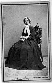 Adelina Hagerup portrait, by L. Grundtvig, Edvard Grieg Archives, Bergen Public