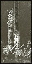 Sketch of Henry-Baird Column, 1 February 1879, by Unknown, sketch, courtesy of Frank Leslie's Illust
