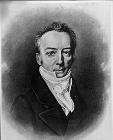Engraving of James Smithson, by Heliotype Printing Co., c. 1881