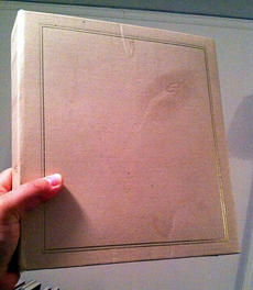 Pink Scrapbook with Blank Cover, by pd_THOR, Creative Commons.